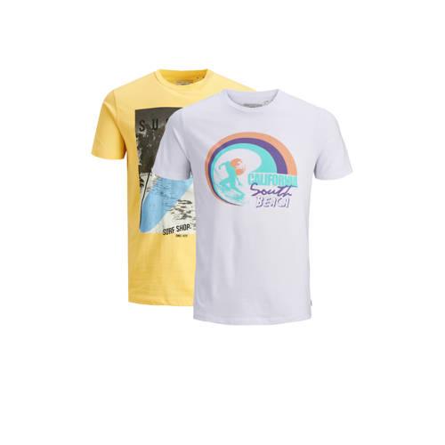 PRODUKT T-shirt met printopdruk ( set van 2)