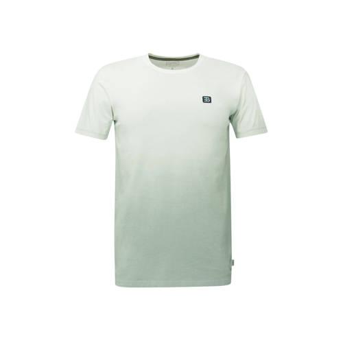 ESPRIT Men Casual tie-dye T-shirt lichtgroen