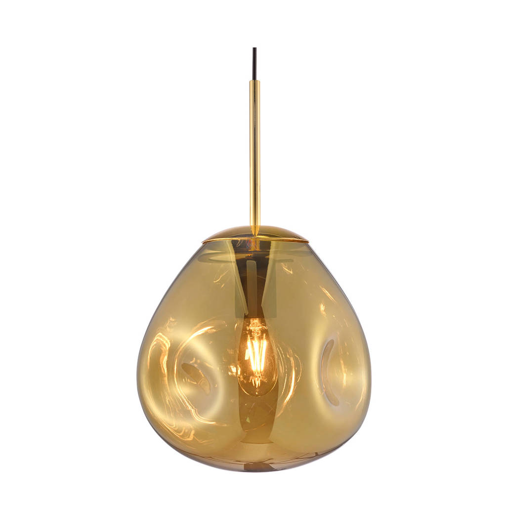 Leitmotiv hanglamp Blown, Goudkleurig, 22