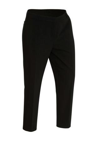 cropped skinny broek zwart