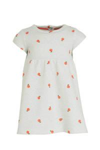 C&A Baby Club A-lijn jurk met all over print wit, Wit