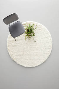 whkmp's own vloerkleed  (Ø160 cm cm), Cream