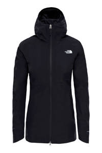 The North Face softshell jack zwart, Zwart