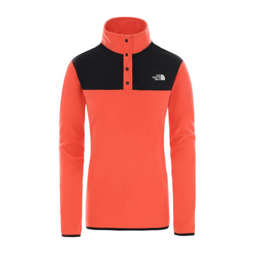 The North Face fleece sweater rood/zwart