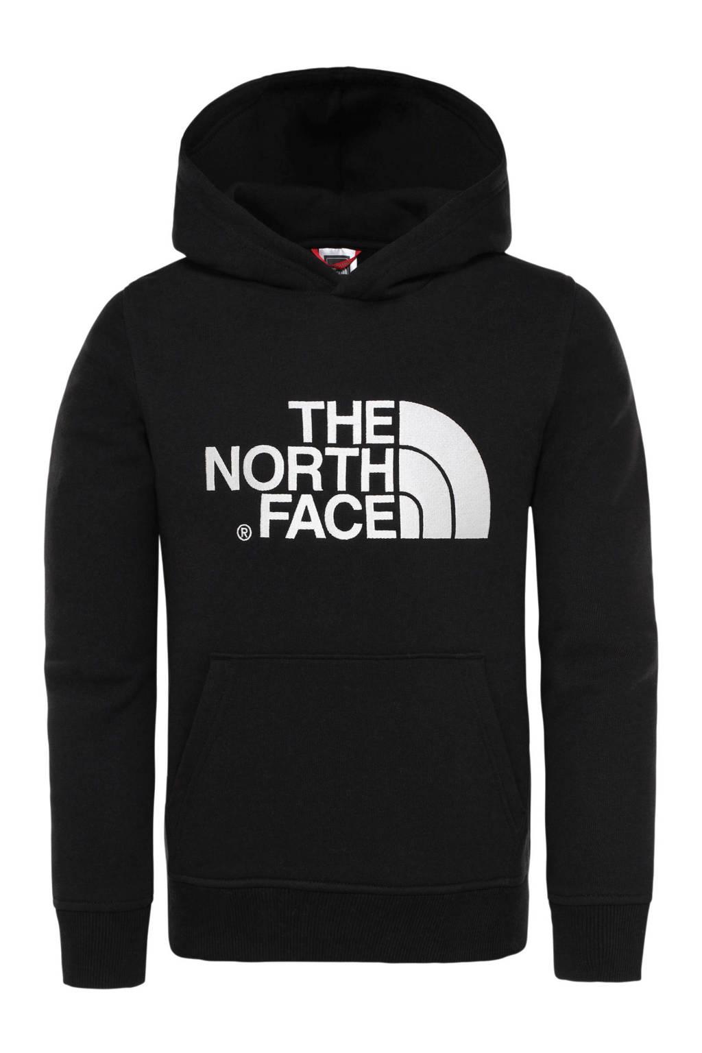 The North Face unisex hoodie zwart/wit, Zwart/wit