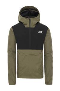 The North Face   anorak zwart/groen, Zwart/groen