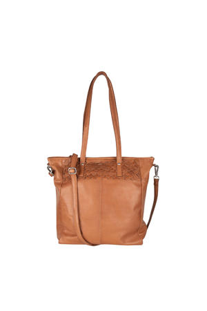 leren shopper Oasis Big camel