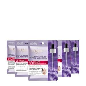 Revitalift Filler Hyaluronzuur tissue masker - 20 stuks