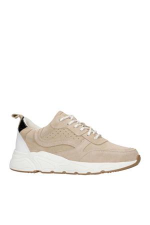suède sneakers beige