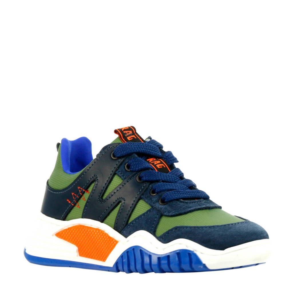 Red Rag 13433  sneakers groen/blauw, Groen/multi