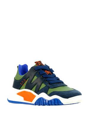 13433  sneakers groen/blauw