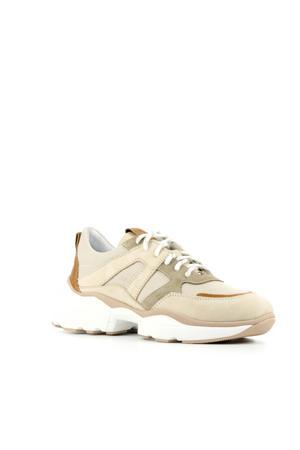76720  suède dad sneakers beige