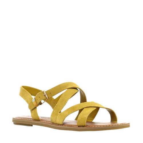 Toms Sicily Su??de sandalen okergeel