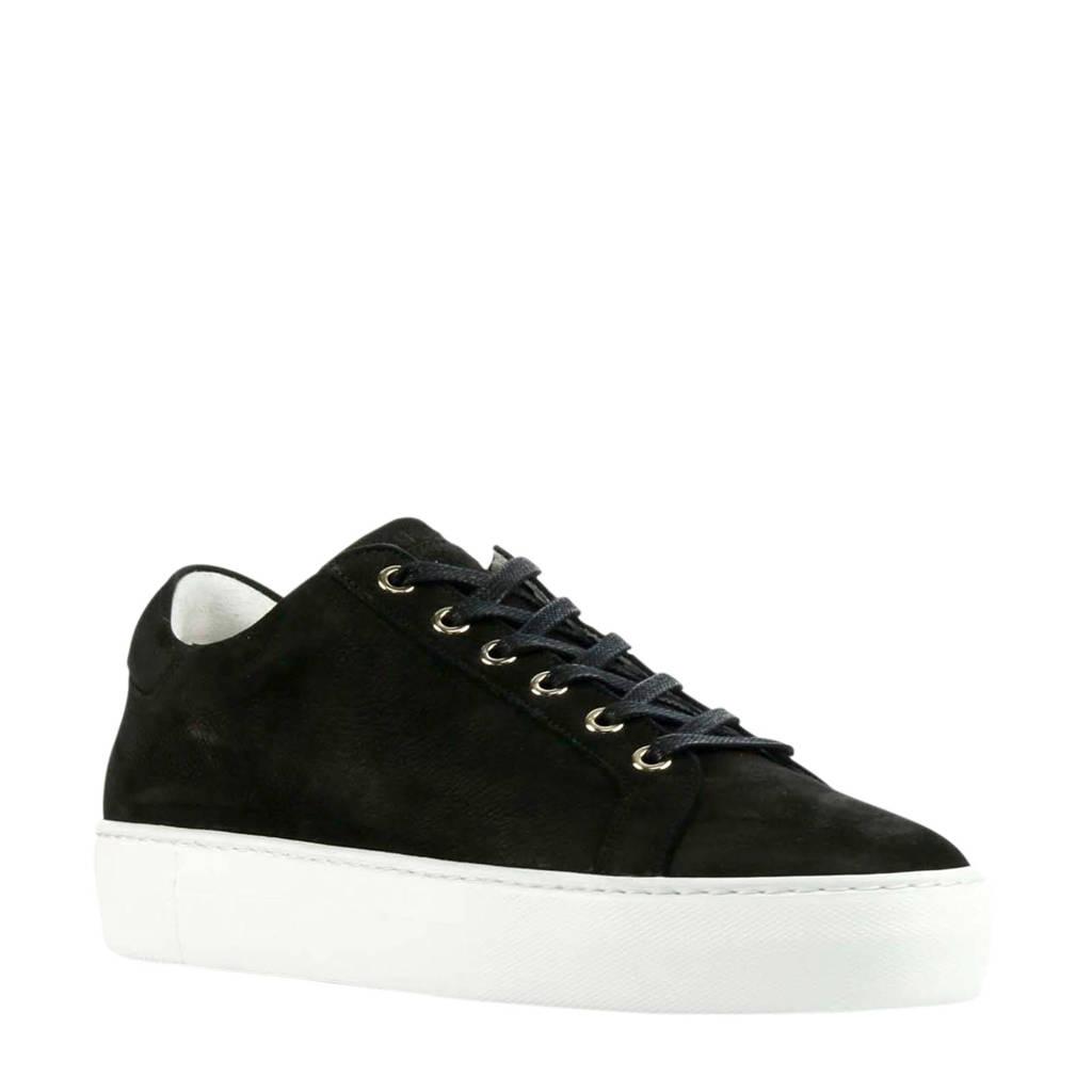 Nubikk Jagger Pure Fresh  nubuck sneakers zwart, Zwart