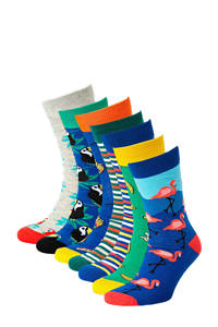 JACK & JONES sokken set van 7 paar, Groen