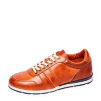 Van Lier 2013201  leren sneakers cognac, Cognac