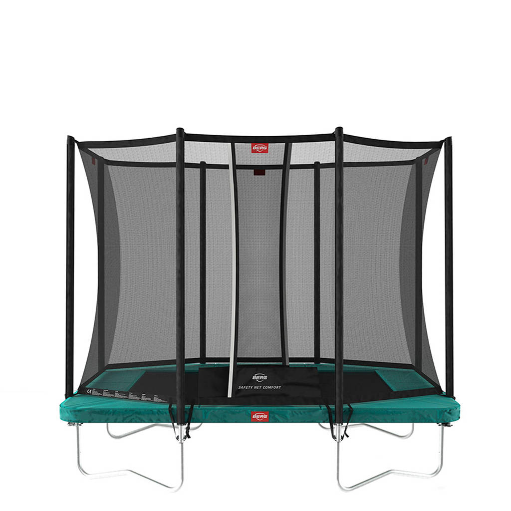 BERG Ultim Favorit trampoline Ø280 cm, Groen