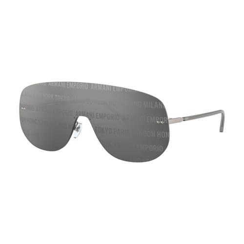 Emporio Armani zonnebril grijs