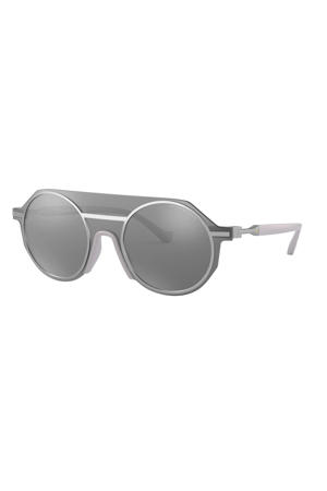 zonnebril 0EA2102 30456G48 mat zilver