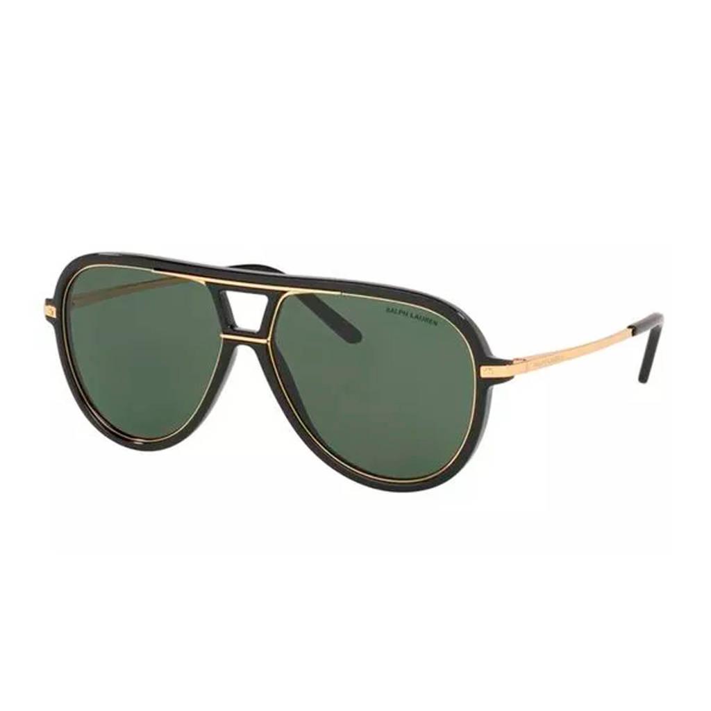 Ralph Lauren zonnebril RL8177 zwart, Zwart/goud