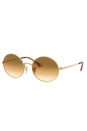 zonnebril OVAL goud