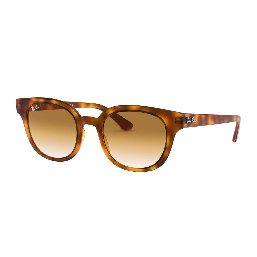 Ray-Ban zonnebril RB432450 bruin