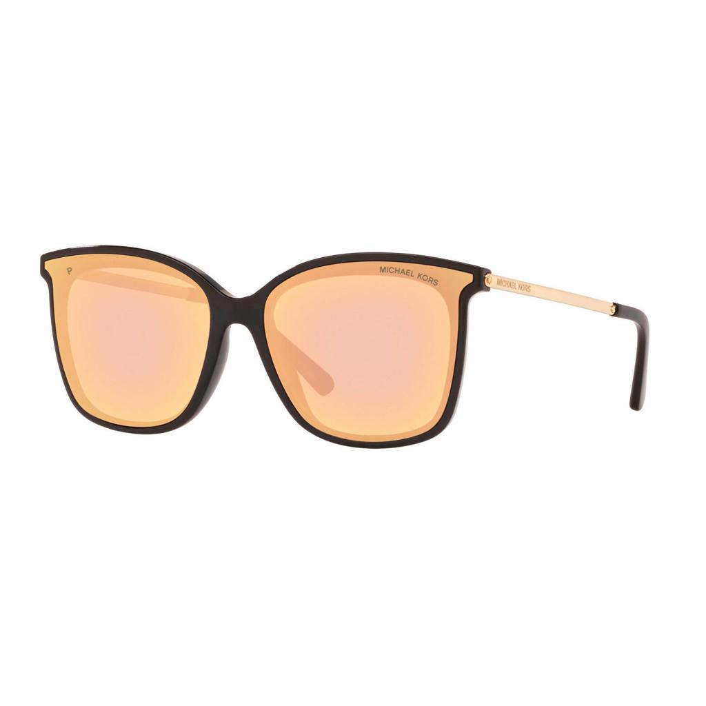 Michael Kors zonnebril zwart/goud