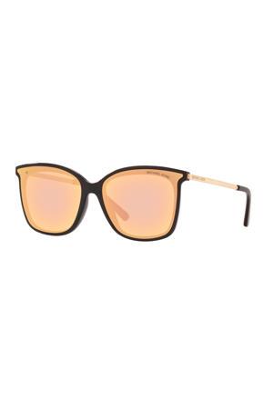 zonnebril zwart/goud