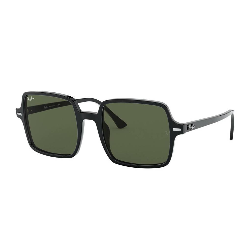 Ray-Ban zonnebril SQUARE II zwart, Zwart