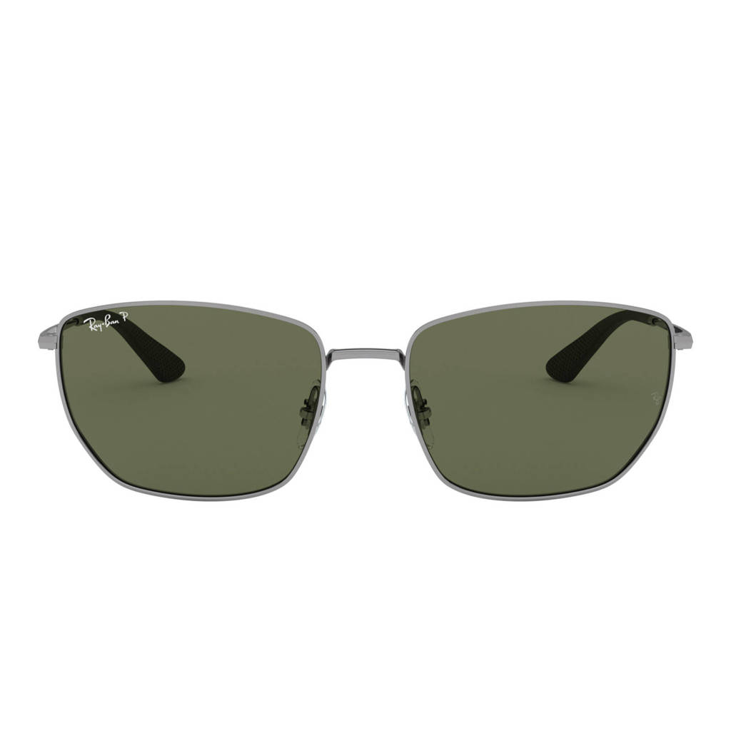 Ray-Ban zonnebril RB3653 grijs, Staalgrijs
