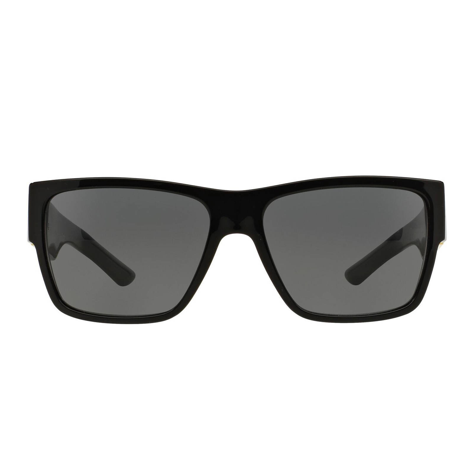 Versace zonnebril VE4296 zwart   wehkamp