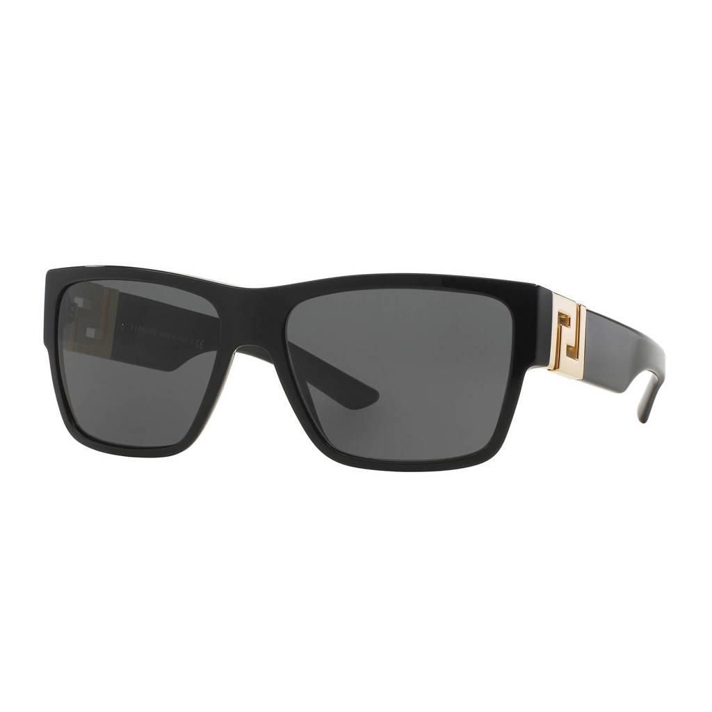 Versace zonnebril VE4296 zwart, Zwart