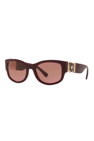 zonnebril VE4372 donkerrood