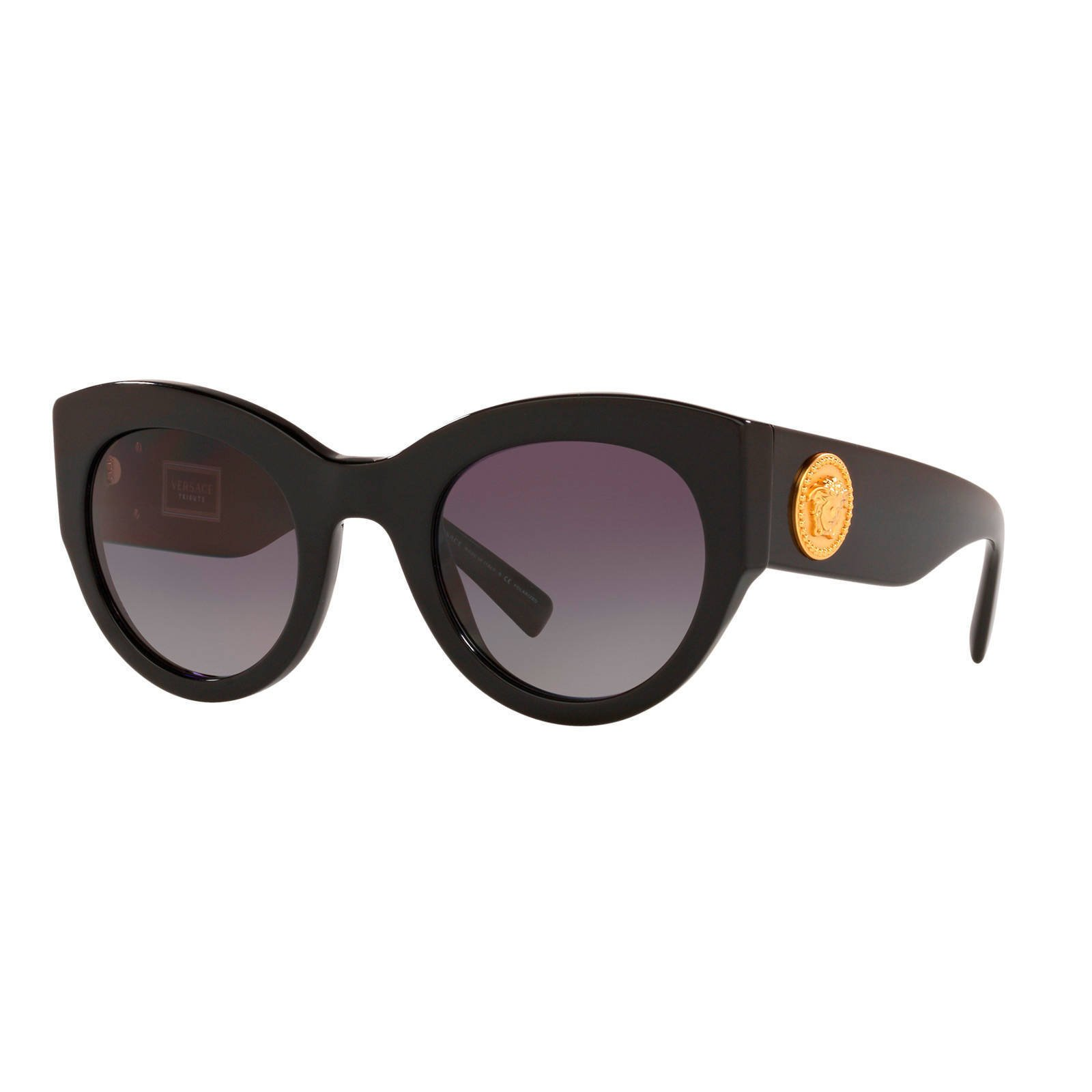 Versace zonnebril VE4353 zwart   wehkamp