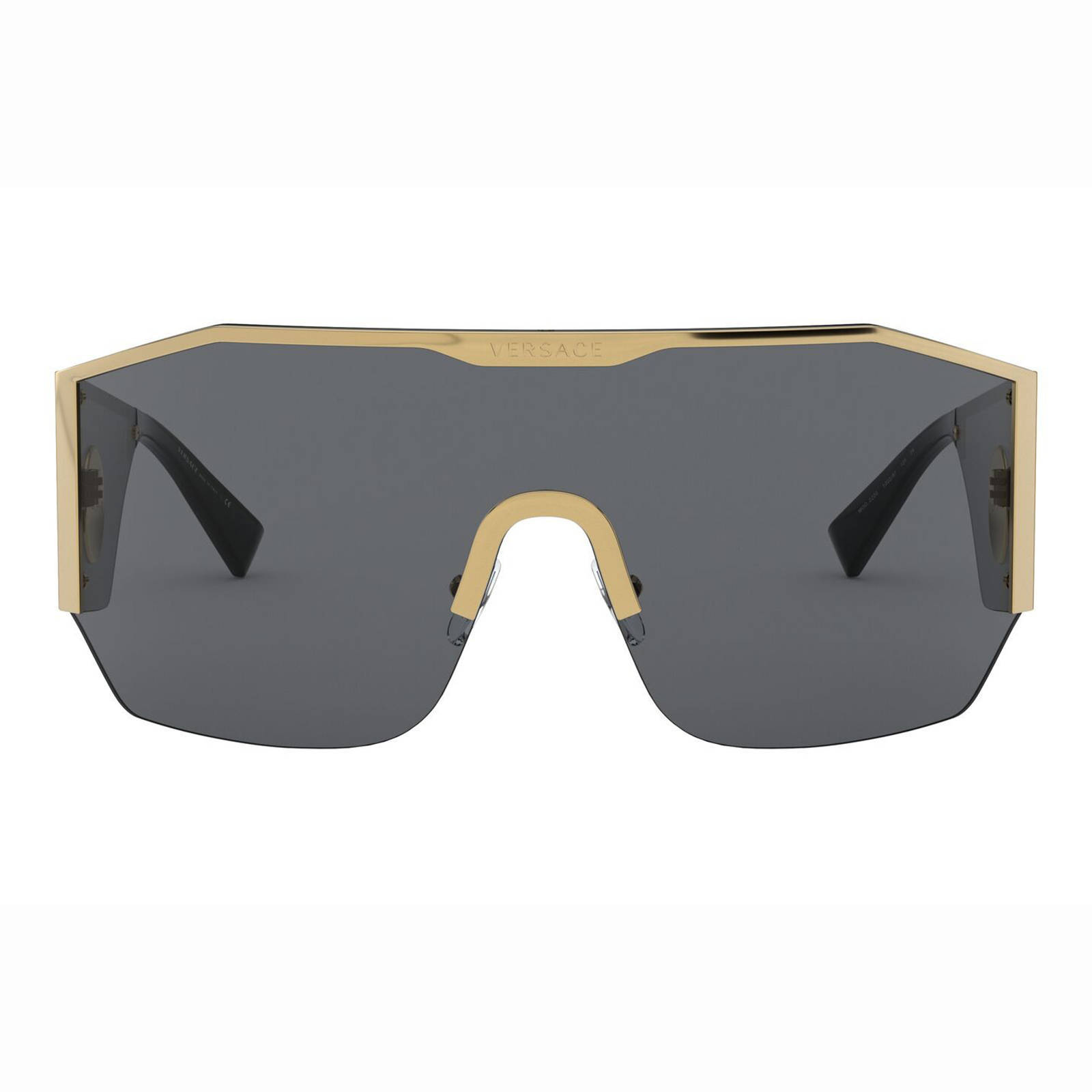 Versace zonnebril VE2220 goud   wehkamp