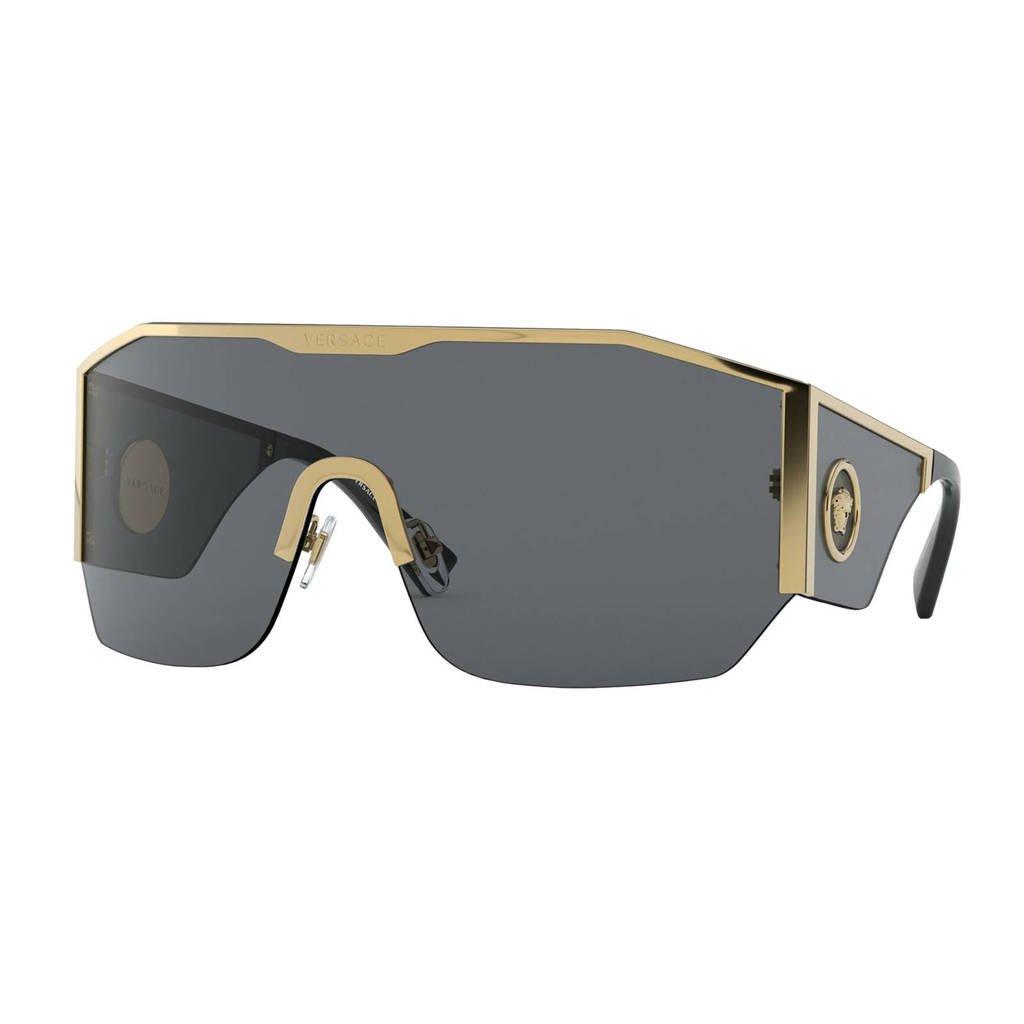 Versace zonnebril VE2220 goud, Zwart/goud