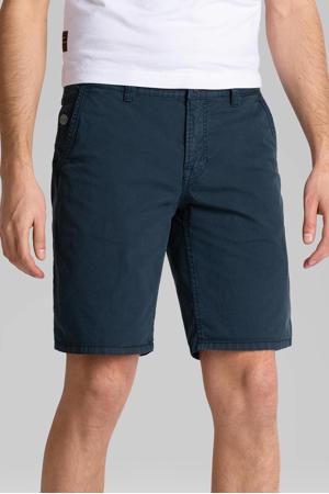 regular fit chino short donkerblauw
