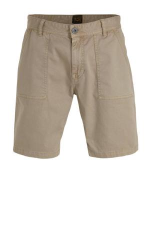regular fit chino short beige