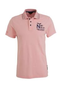 PME Legend slim fit polo roze, Roze