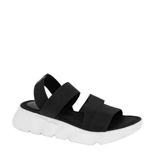 Graceland sandalen zwart