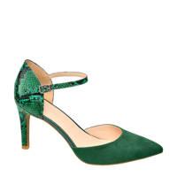Star Collection   pumps groen/slangenprint, Groen