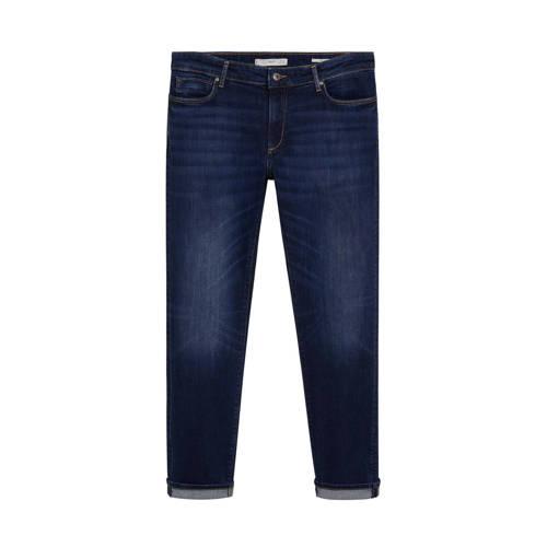 Mango Man regular fit jeans changeant blauw