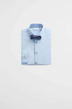 overhemd met vlinderstrikje lichtblauw