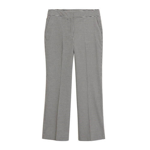 Violeta by Mango straight fit pantalon met pied-de