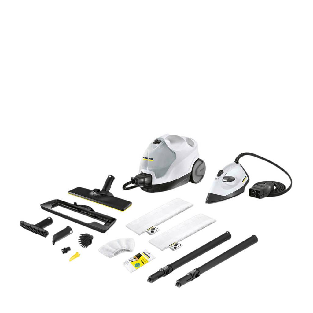 Kärcher SC 4 EasyFix Premium Iron stoomreiniger, Wit, zwart