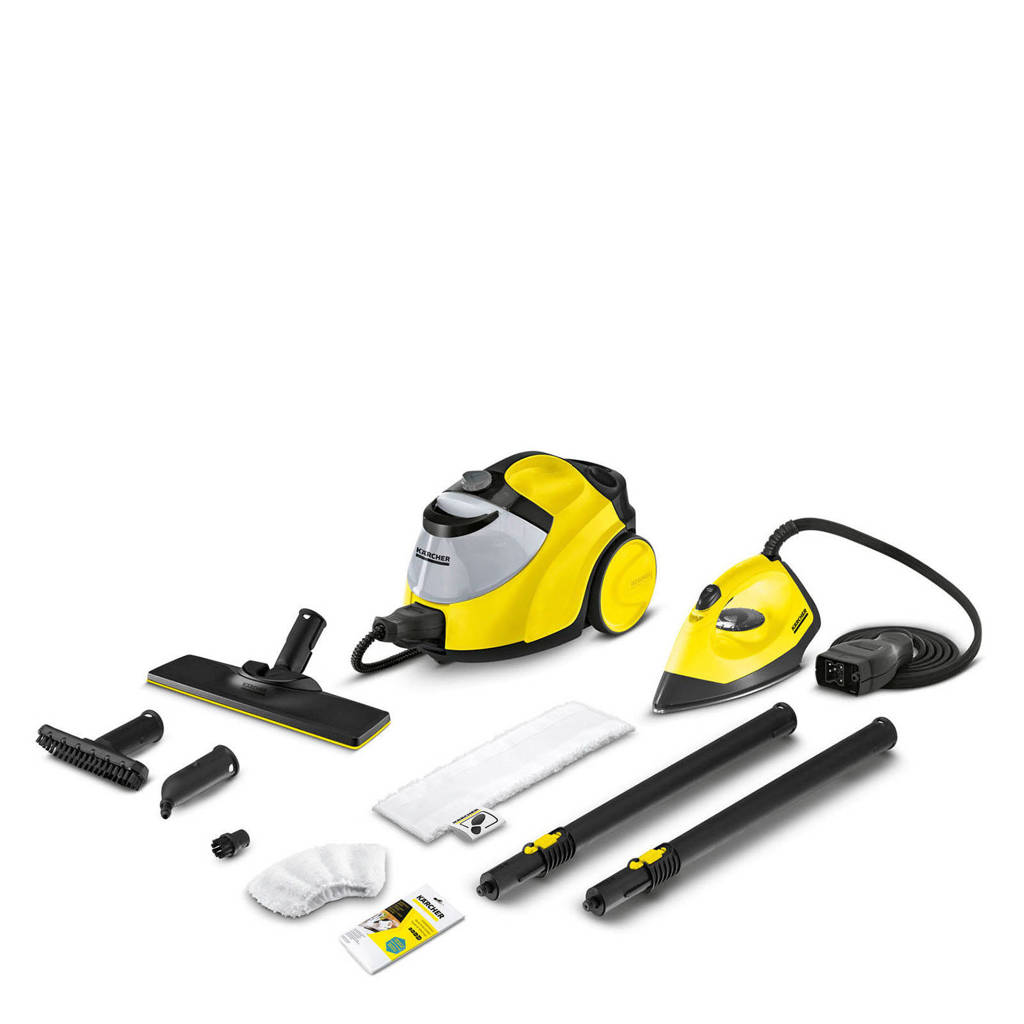 Kärcher SC 5 EasyFix Iron stoomreiniger, Geel