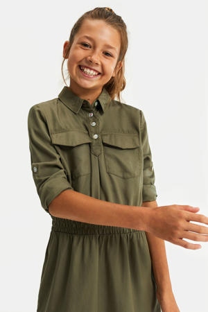 blousejurk army groen