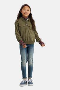 WE Fashion blouse army groen, Army groen