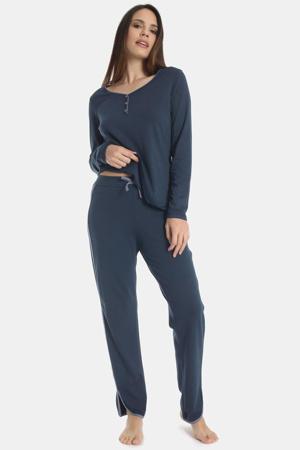 pyjamabroek Misty Garden donkerblauw