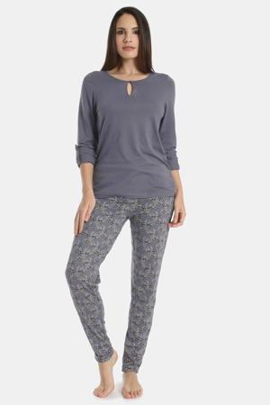pyjamatop Exclusive Autumn blauw